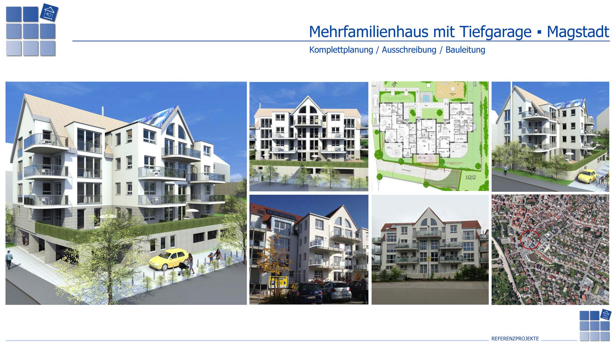 Referenz-Magstadt